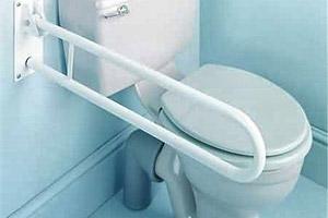 beugels en wandgrepen bij het toilet - een eerlijk advies, Badkamer