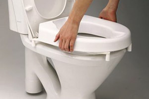 toiletverhoger met klemsysteem