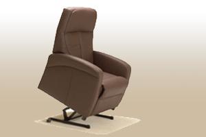 bruine sta op stoel